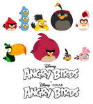 Disney's Angry Birds - Character Designs