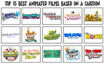 My Top 15 Best Animated Films Based on a Cartoon