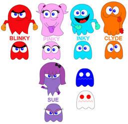 Hub's Pac-Man - The Ghost Gang Designs