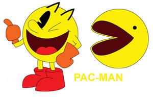 Hub's Pac-Man - Pac-Man Character Design