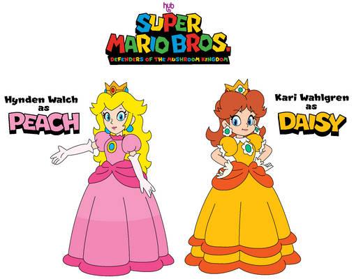 SMB:DotMK - Princesses Peach and Daisy