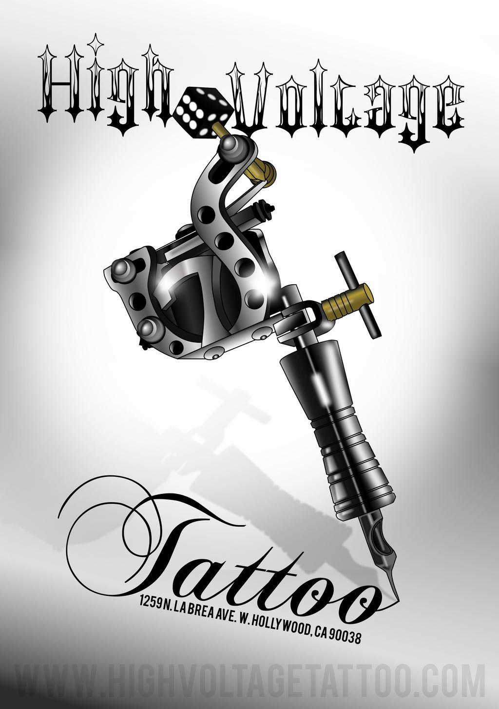 Tattoo Machine By Rocknrollclaire