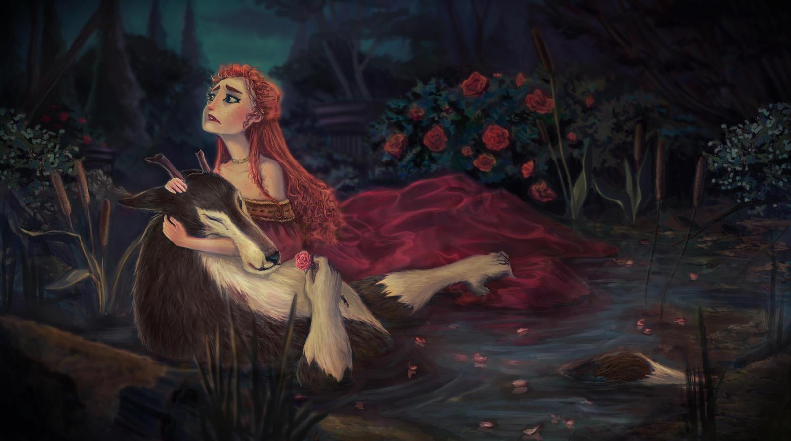 The Beast Dies by kelseymichele