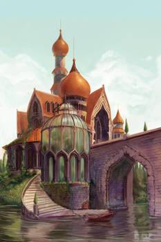 The Beast's Castle by kelseymichele