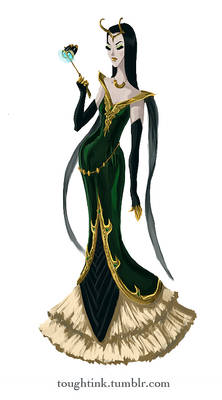 Avengers Gowns: Loki