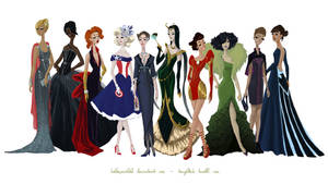 Avengers Gowns: Complete Collection