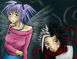 Ruby and Jio by nekozikasilver1