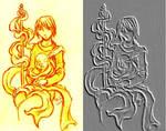 Relief Drawing Ashokan