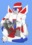 Bluestreak and Skyfire