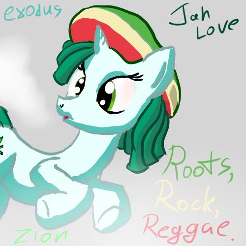 Rasta Pony by Snus-kun