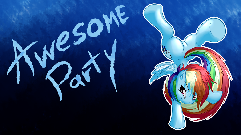 Awesome Party by Snus-kun