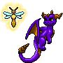 Spyro and Sparx by NoelaniEternal