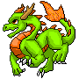 Skylanders Sun Dragon Sprite by dragonfriendhaj
