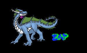 Zap The Water Dragon by NoelaniEternal