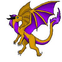 Goldenfire Sprite by dragonfriendhaj