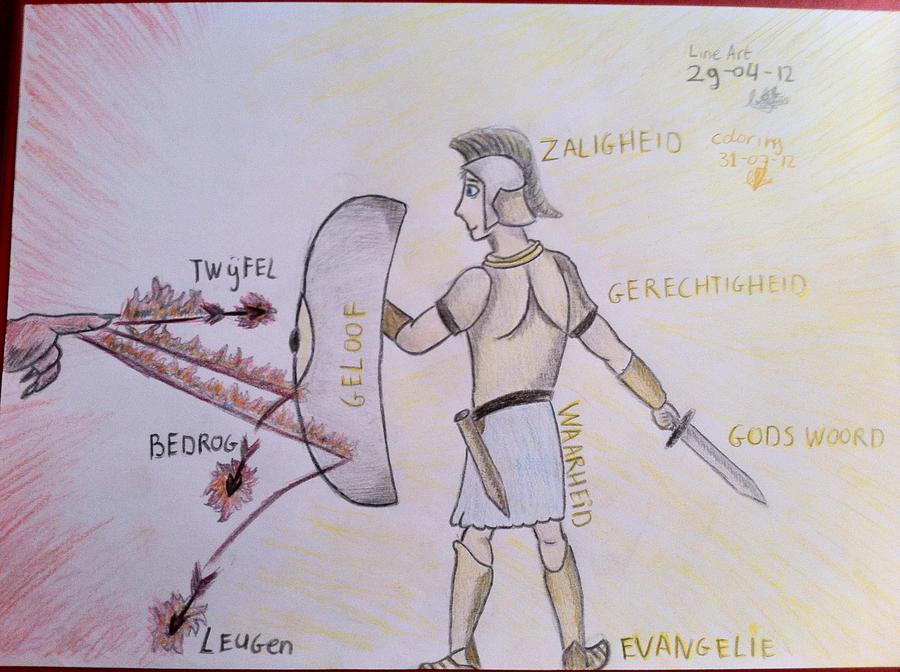 devil vs god drawing - photo #15