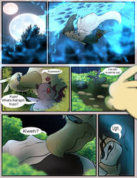 Black Mage and White Paladin page 8 by Salrie