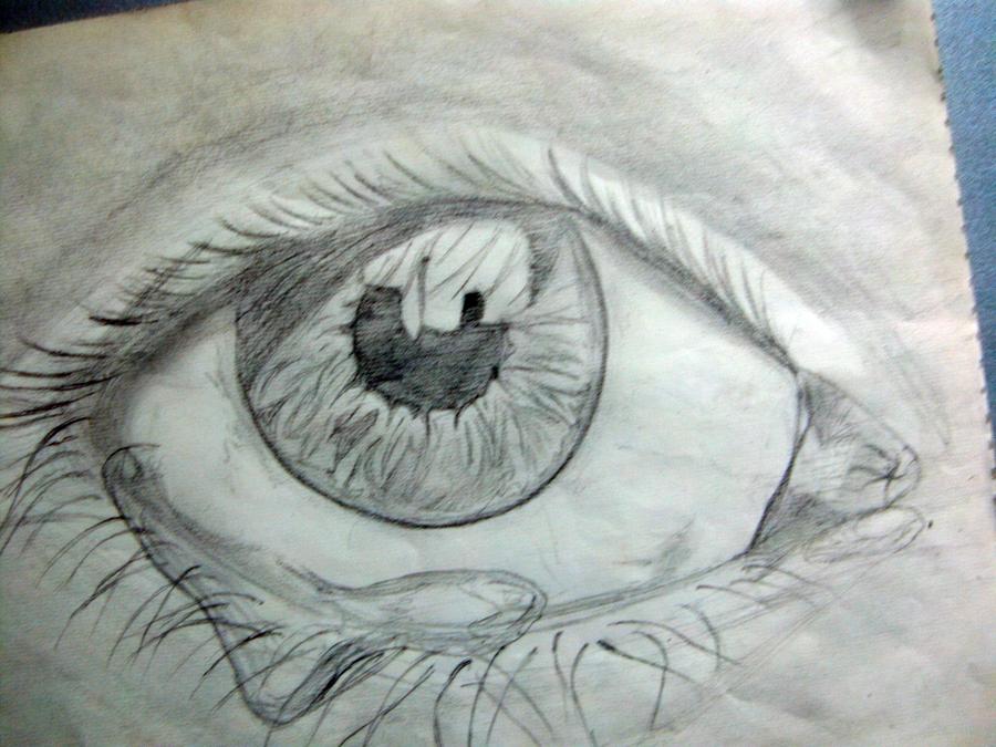 Teardrops in my