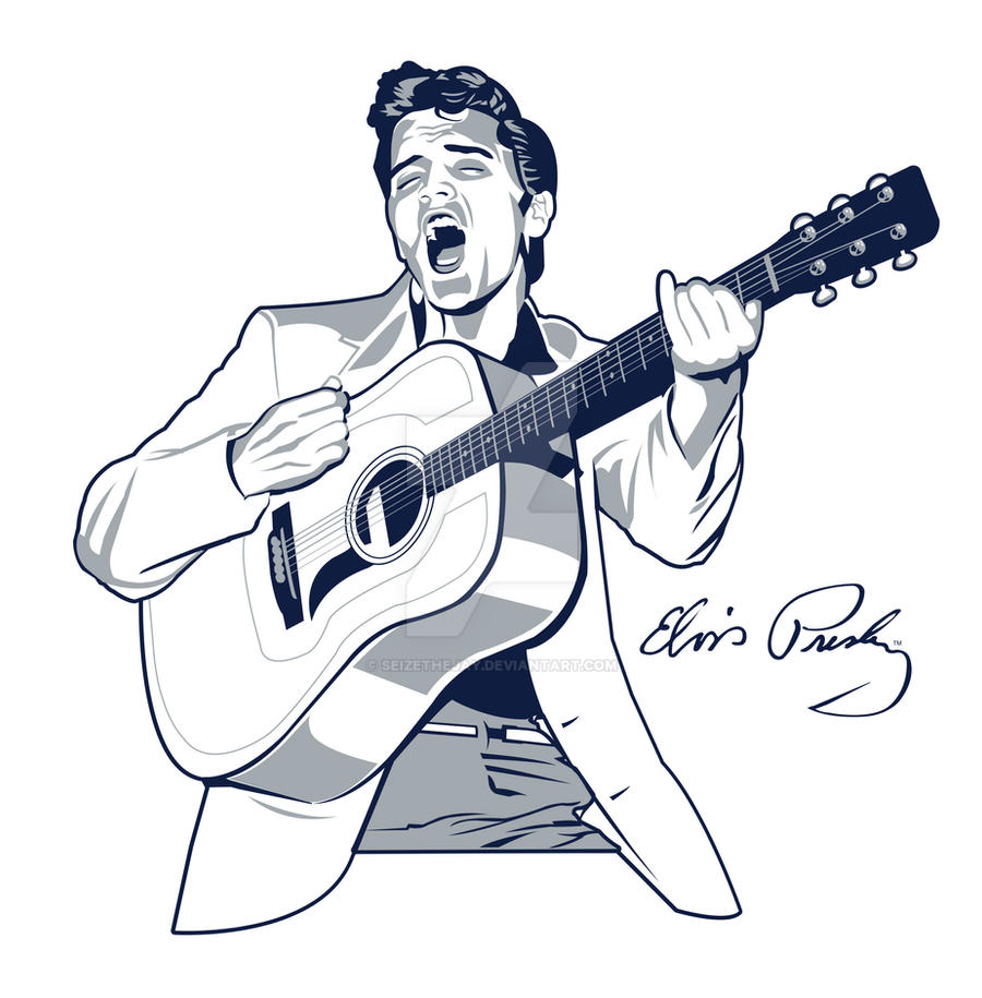 Elvis Presley by SeizeTheJay on DeviantArt