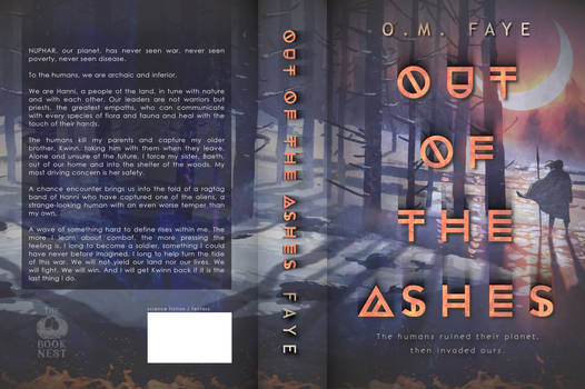 Out of the Ashes print cover