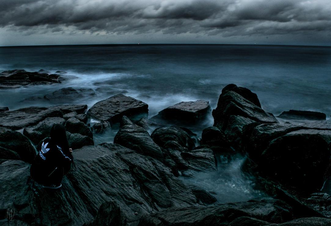 Black Beach Squat by megouskiz00ms