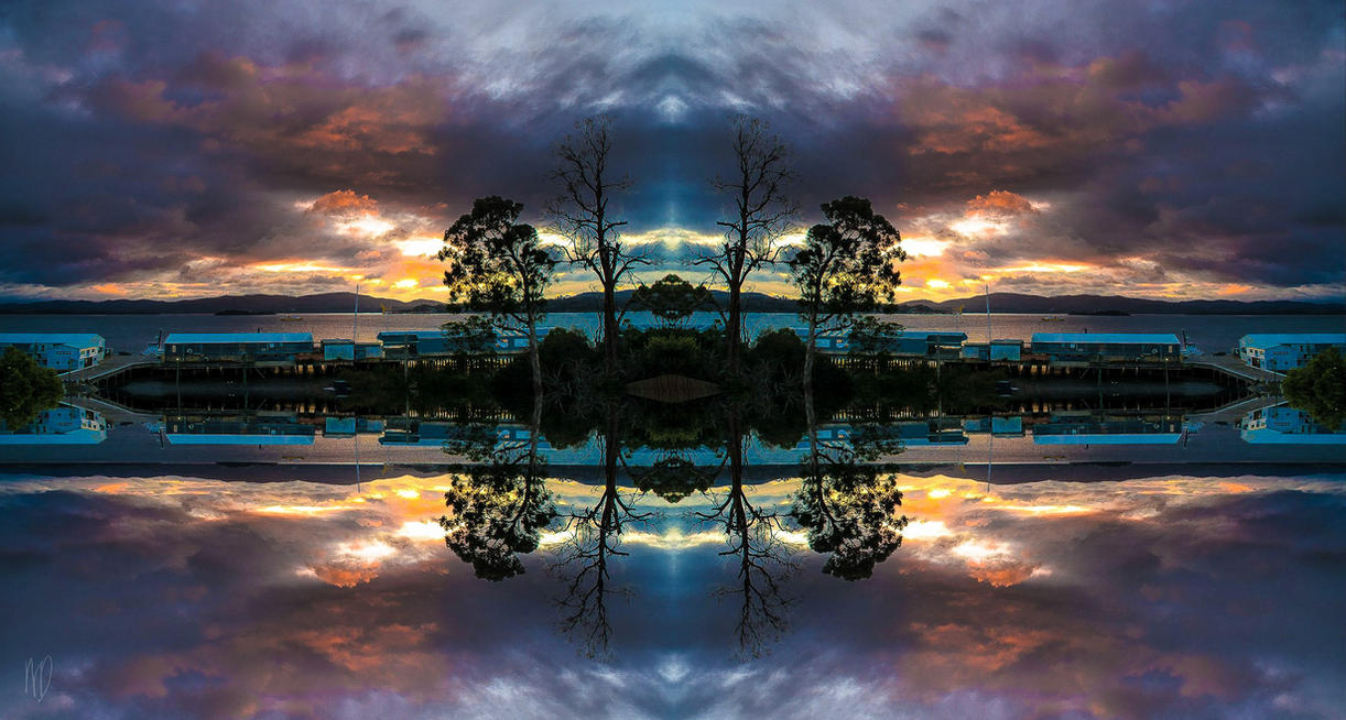 Rainbow Reflections by megouskiz00ms