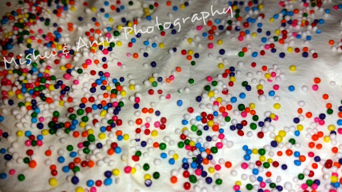Sprinkle Rainbow Cake Recipe