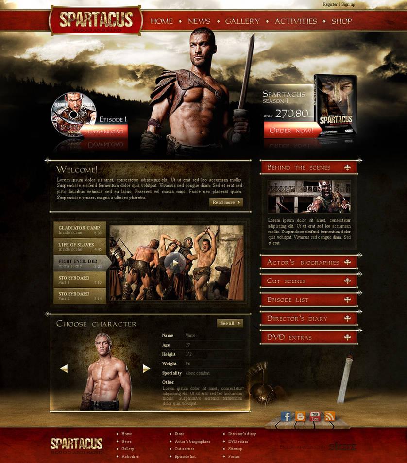 spartacus site