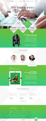 Simple website design for Graftek Inc.