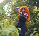 Cosplay: archery