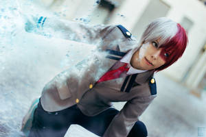 Cosplay: Todoroki by Abletodoall