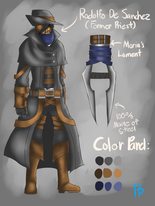 BloodBorne Hunter Concept By Theyakate On DeviantArt