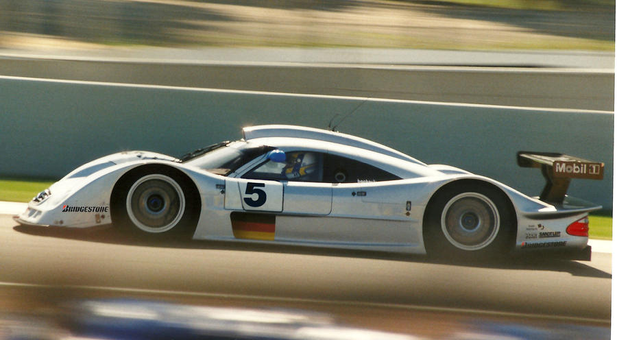 Mercedes in Le Mans by Dany-Art