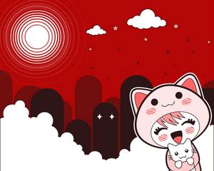 Red Japan Wallpaper 2