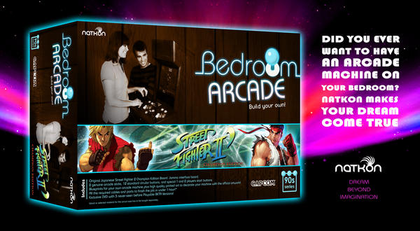 Build your own arcade: SF2 by N4ch0