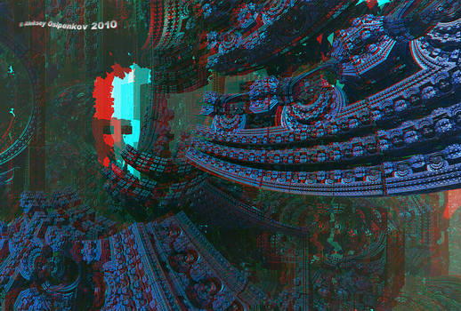 Alien World 3 Anaglyph 3D