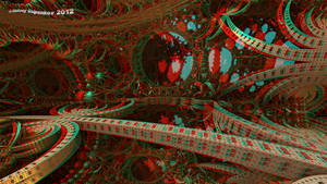 Pass to Eden Anaglyph 3D Stereoscopy