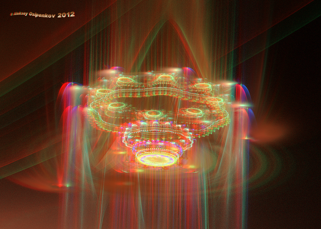 Vimana Anaglyph 3D Stereoscopy by Osipenkov