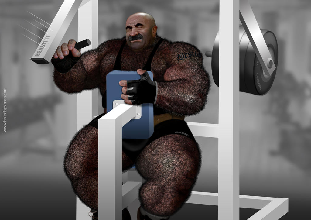 Steel Gorilla by brutebysimon