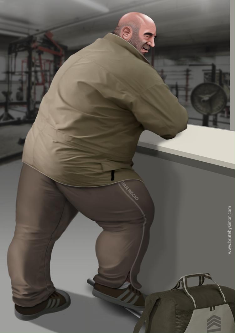 545 lbs. by brutebysimon