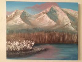Oil painting 12-27-2014