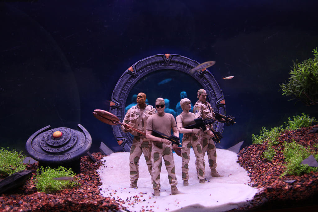 Stargate Aquarium II by Sabbar