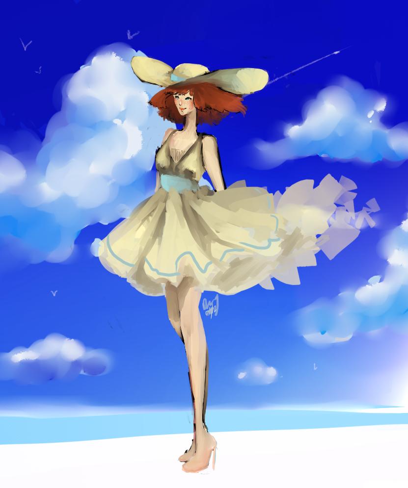 Sunshine android: Go commish by LepuraNya