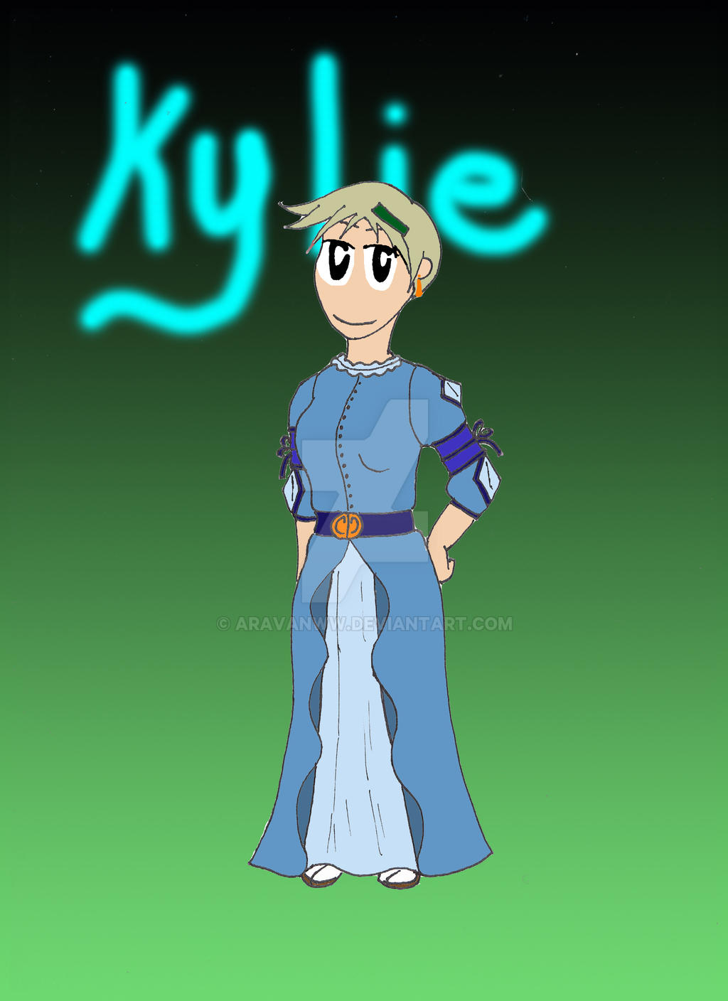 Kylie by Aravanww