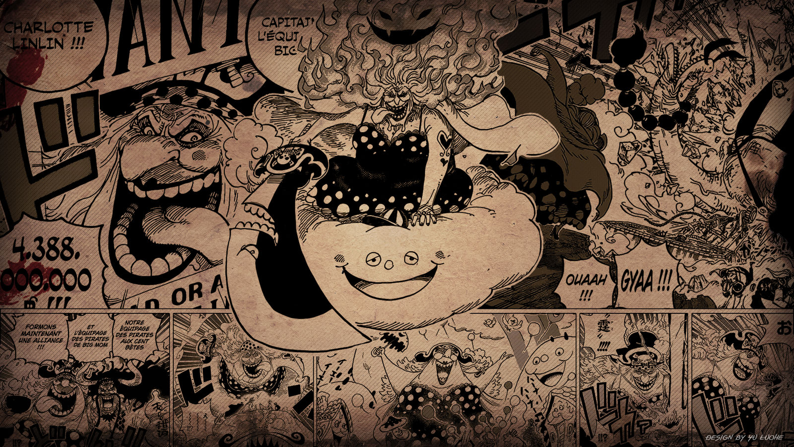 One Piece Wallpaper Big Mom By Yuluohe On Deviantart