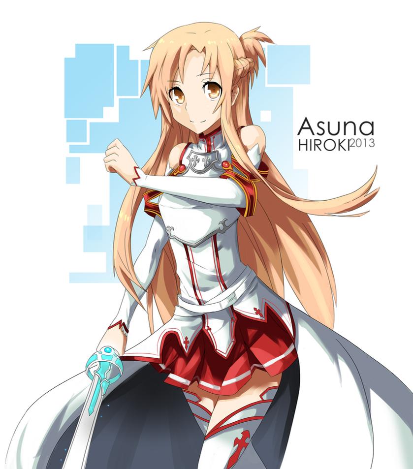 Asuna SAO by hirokiart