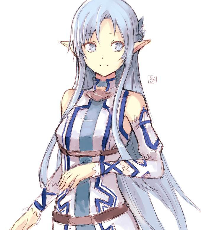 sao wallpapers asuna blue hair - photo #28
