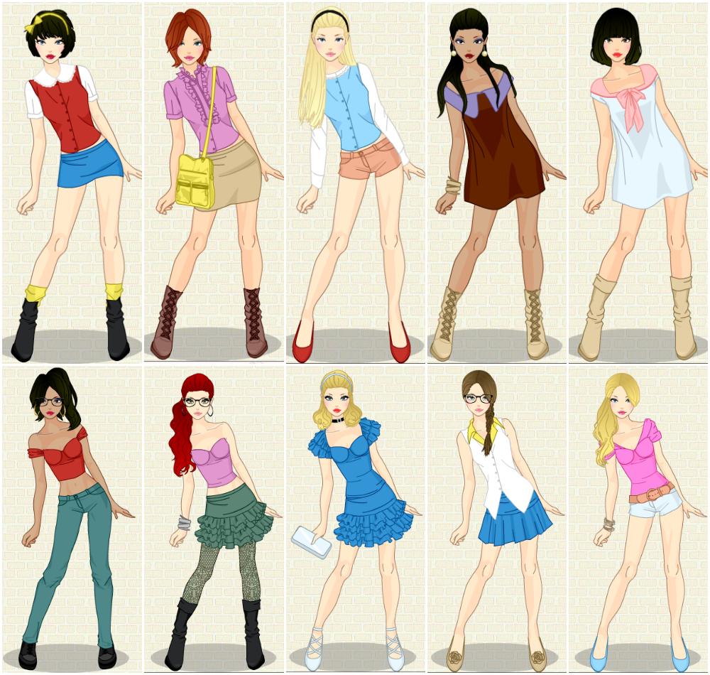 Modern Princesses by clara-0swald on DeviantArt