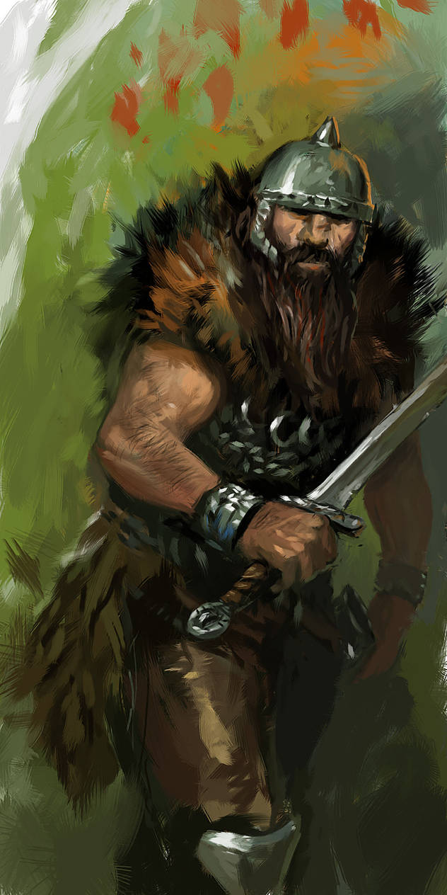 Barbarian in the Forest by Cristi-B on DeviantArt