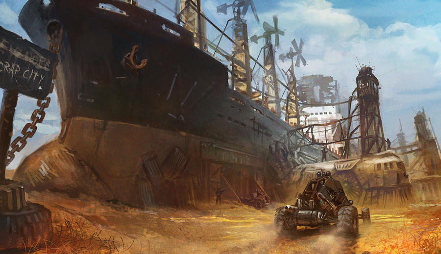 Scrap City by Cristi-B